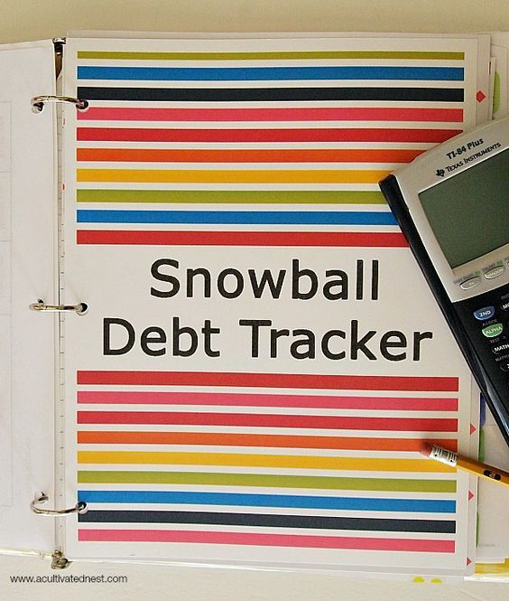 Getting Out Of Debt By Using The Debt Snowball System Debt - debt payoff calculator
