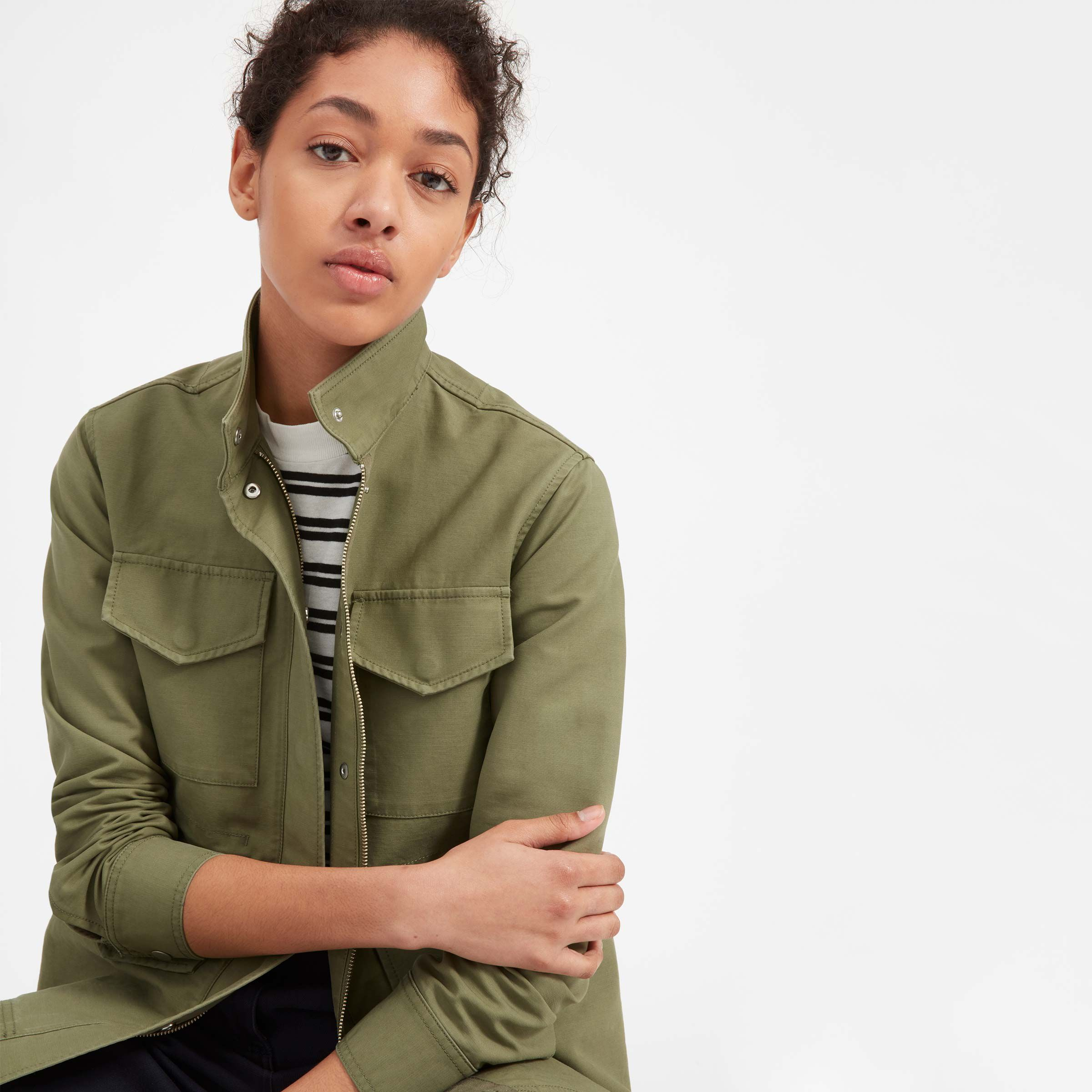 Privilege Clothing Womens Drawcord Collar Jacket