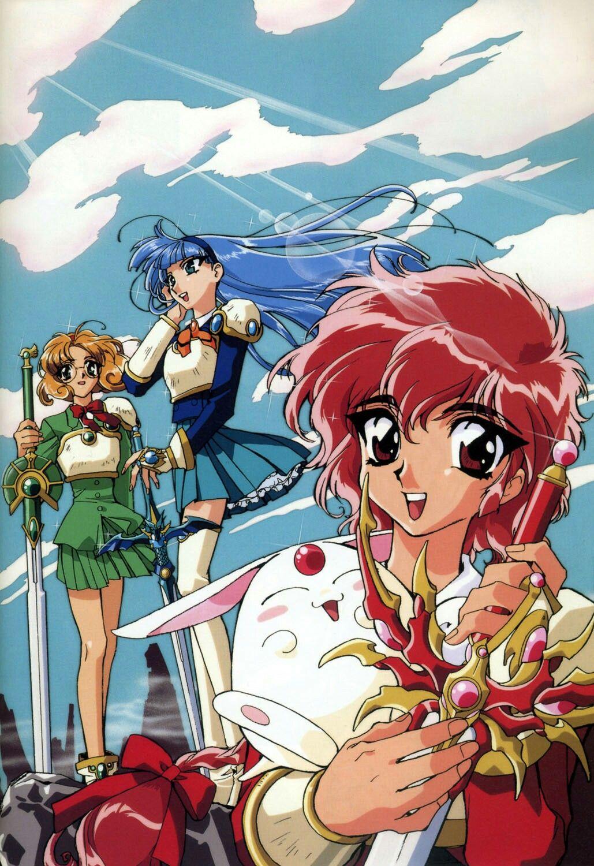 Pin de 💞νι¢тσяια αℓєχα 💞 en Anime Guerreros y Mokona modoki