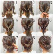 Photo of Die 10 einfachsten und einfachsten Frisuren für immer Schonheit.info