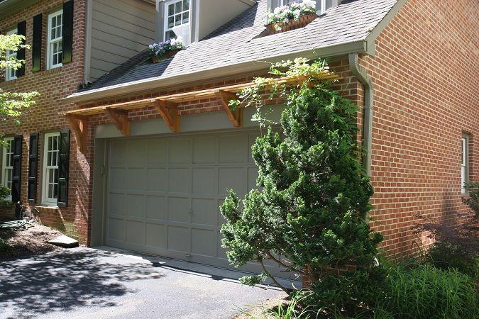 Cedar Trellis Over Garage Door Hay Garage Doors