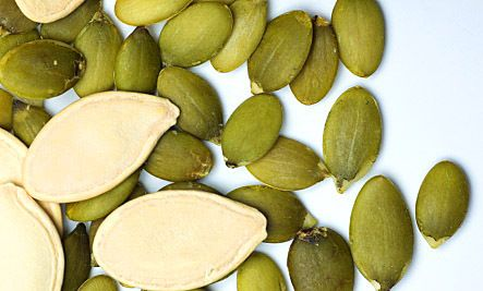 Pumpkin seeds are the only seed that is alkaline-forming; in this world of highly acidic diets, that is a very good thing.    Read more: http://www.care2.com/greenliving/13-health-benefits-of-pumpkin-seeds.html#ixzz1z7d0jJCH