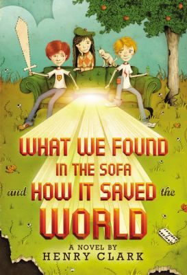 What We Found in the Sofa and How it Saved the World by Henry Clark. The story centers around all the craziness that happened after a group of friends find a rare crayon in a sofa by the curb in front of the Underhill Mansion.  If you want a funny story about cell phones, genetically modified foods, flash mobs, and brain control (presented as a nice blend of realistic and science fiction), I suggest you check this one out.