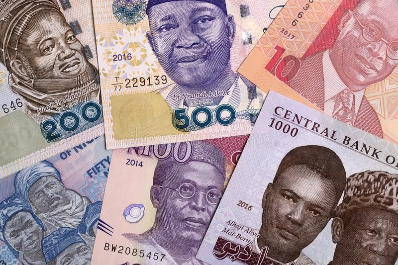 Nigerian Naira A Background With