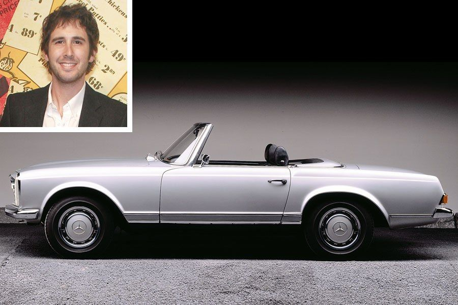 photo of Josh Groban  - car