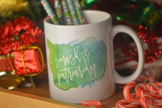 Smash the Patriarchy // Funny Mug // Gift for Feminist //