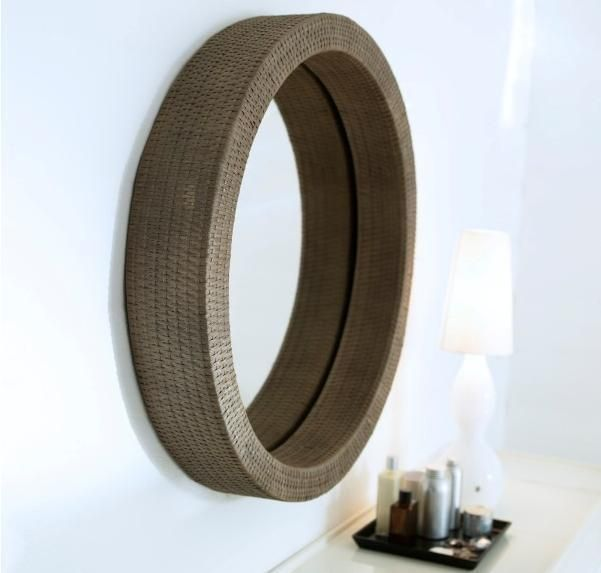 Ebay Co Uk Search: IKEA Melbu Round Rattan Mirror