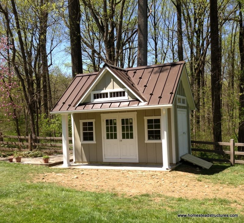 Hardie Board And Batten Siding 13 X 16 Liberty A Frame Hardie Board Batten Siding Pool Houses Backyard Sheds Pool Shed