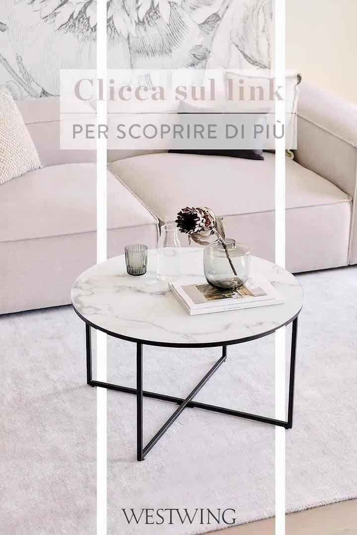 Antigua – il tavolino effetto marmo