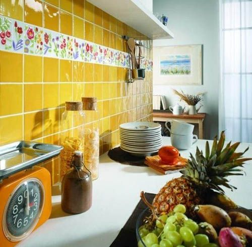 Hand Painted Wall Tiles Simple Ways To Decorate Old Bathroom And Kitchen Tiles Trendy Kitchen Tile Wall Tiles Design Modern Wall Tiles