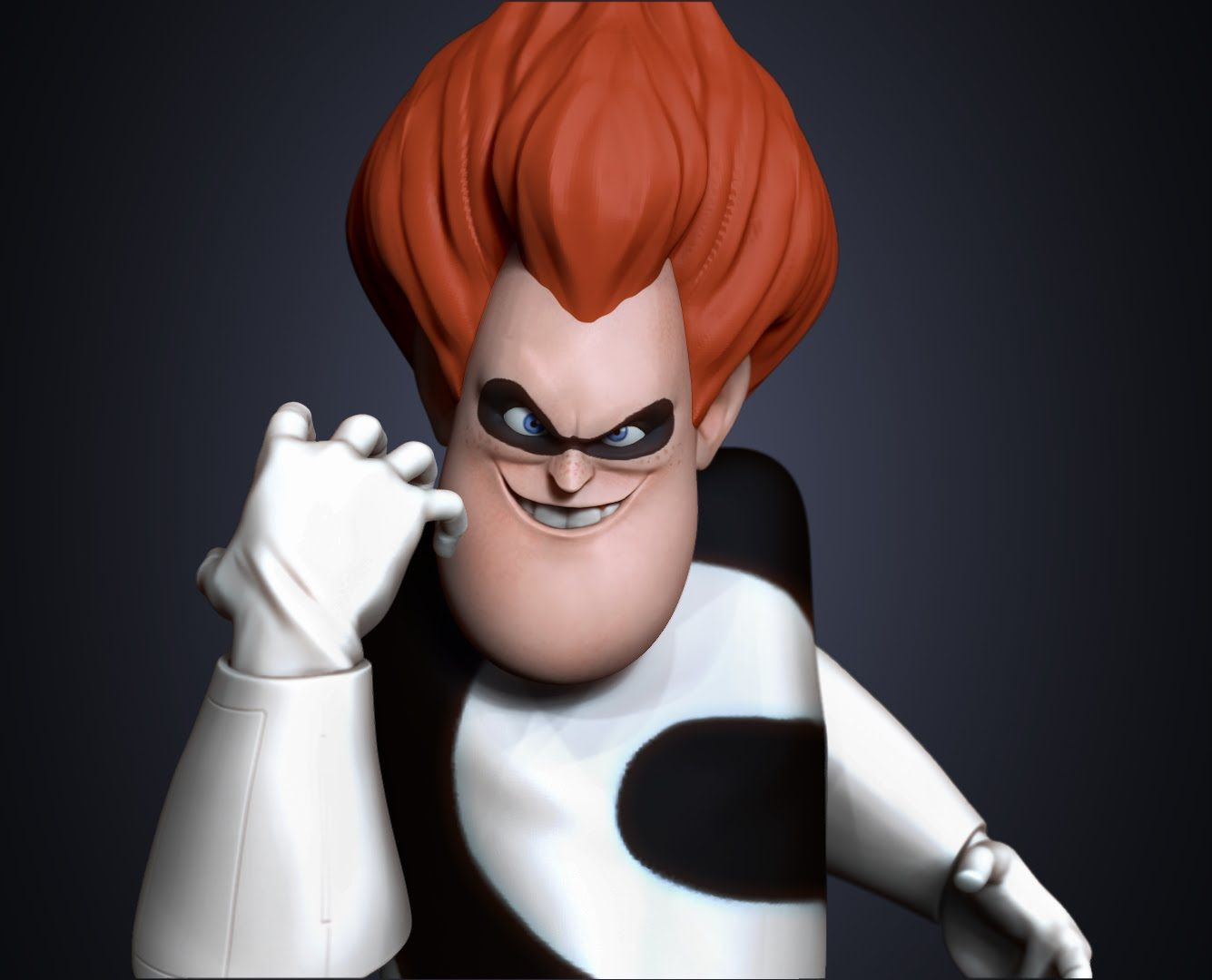 Syndrome - Zbrush Speed Sculpt
