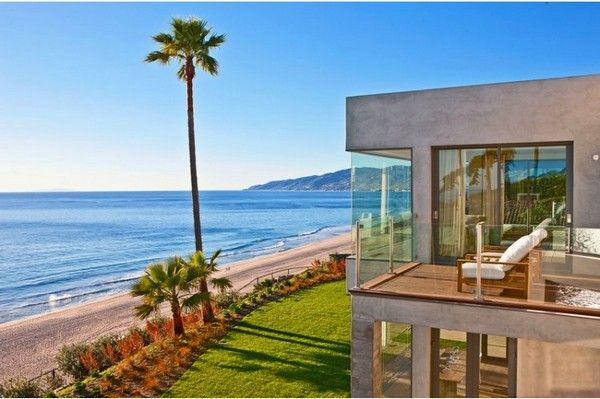 Malibu Beach House Villas Big Homes Pinterest Malibu
