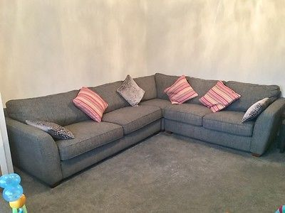 Dfs Home Beautiful Sophia Corner Sofa Grey Ebay Grey Corner Sofa Living Room Sofa Sofa