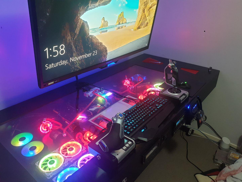 My Custom Build Custom Pc Gaming Setup Computer Setup