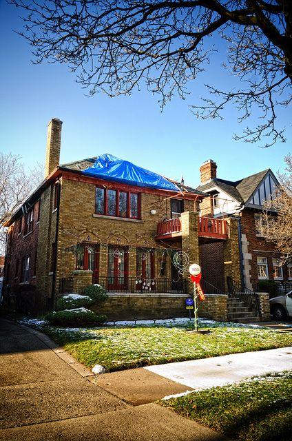 Eddie Kendricks' home, 16531 Baylis, Detroit, MI | Detroit