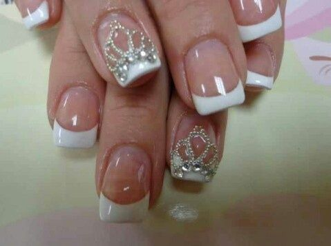 Crown design nails Nails | Nail designer nails - Crown Design Nails Nails Nail Designer Nails Nails