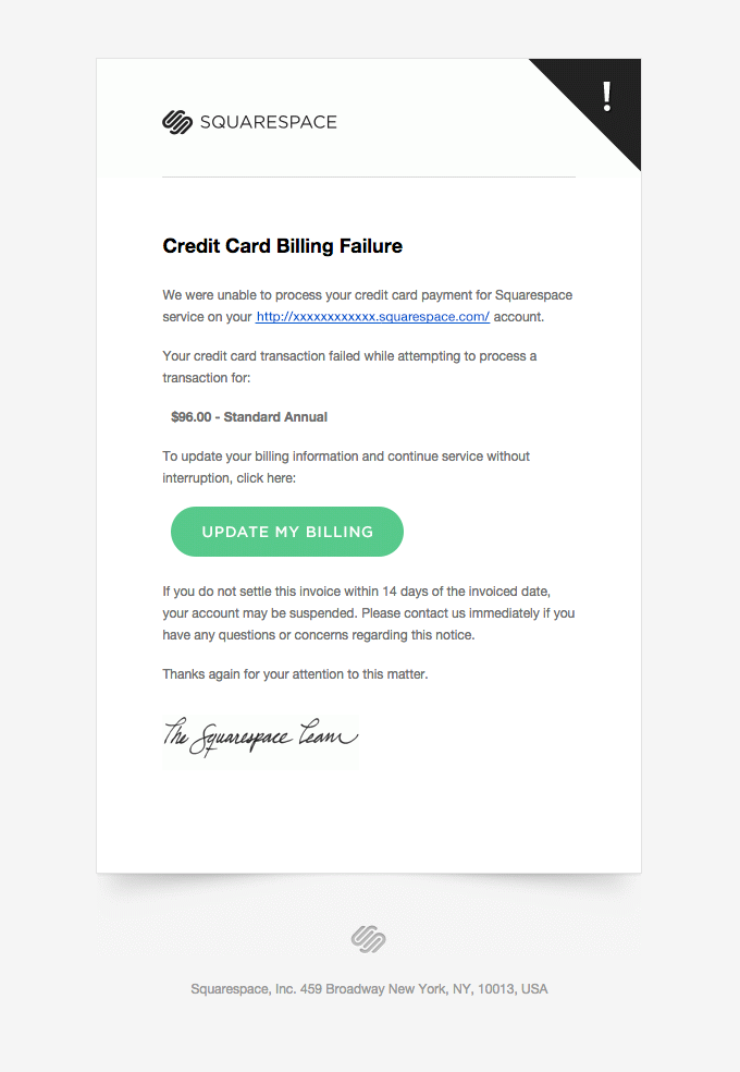 Dunning Emails Help Your Company Collect Customer Payments Learn How The Bes Email Template Design Email Marketing Design Inspiration Email Marketing Template