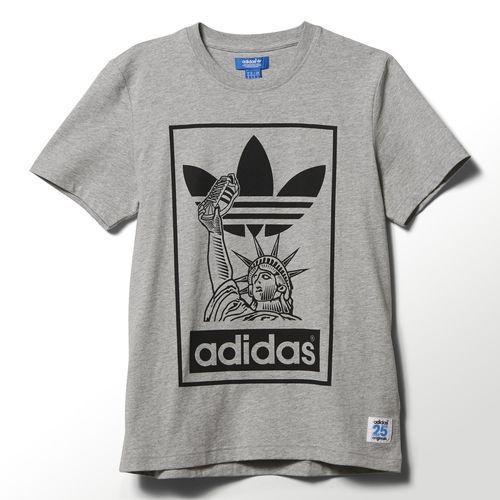 Tiempos antiguos Tierras altas Margaret Mitchell  Adidas Originals New York City Superstar Nigo Tee ALL SIZES FREE SHIPPING  S23610 | Sueter, Adidas, Osaka