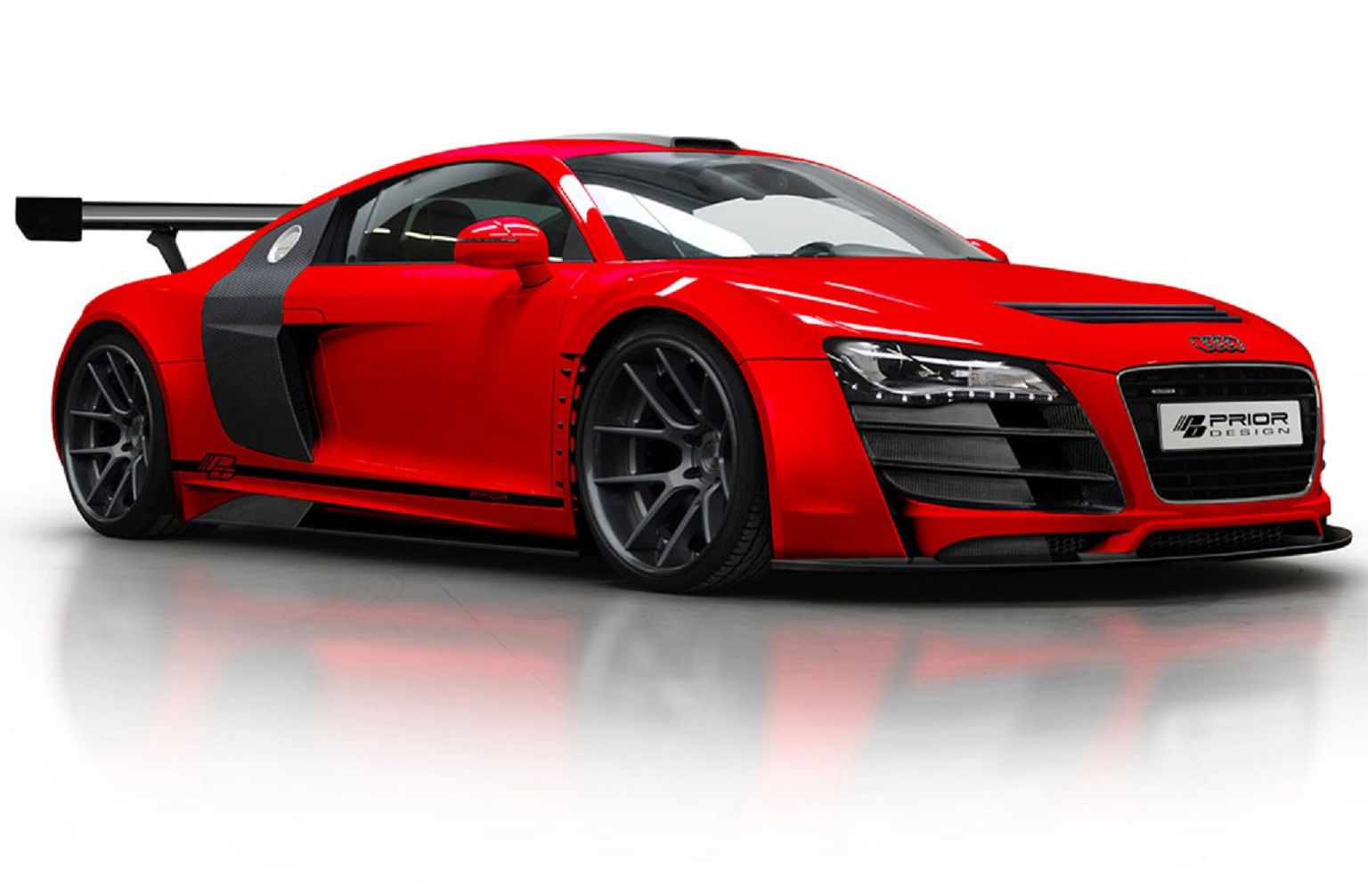 All versions of the Audi R8 features approximately 4357 axle load