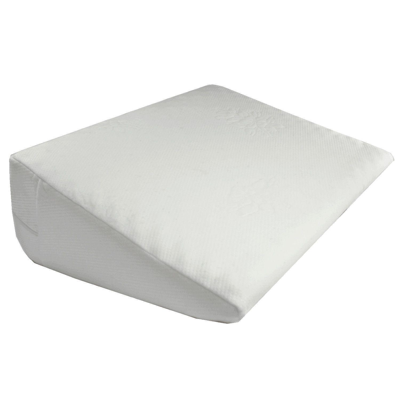 Sharper Image Wedge Memory Foam Pillow Memory Foam Pillows