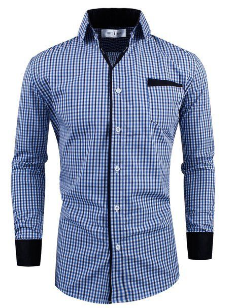 Toms Ware Premium Checkered Longsleeve  7b1bc8ee733