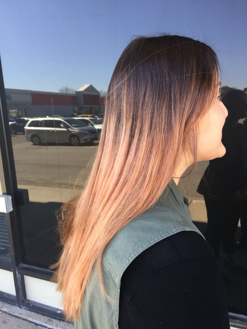 Rose gold ombre hair pinterest rose gold ombre and ombre