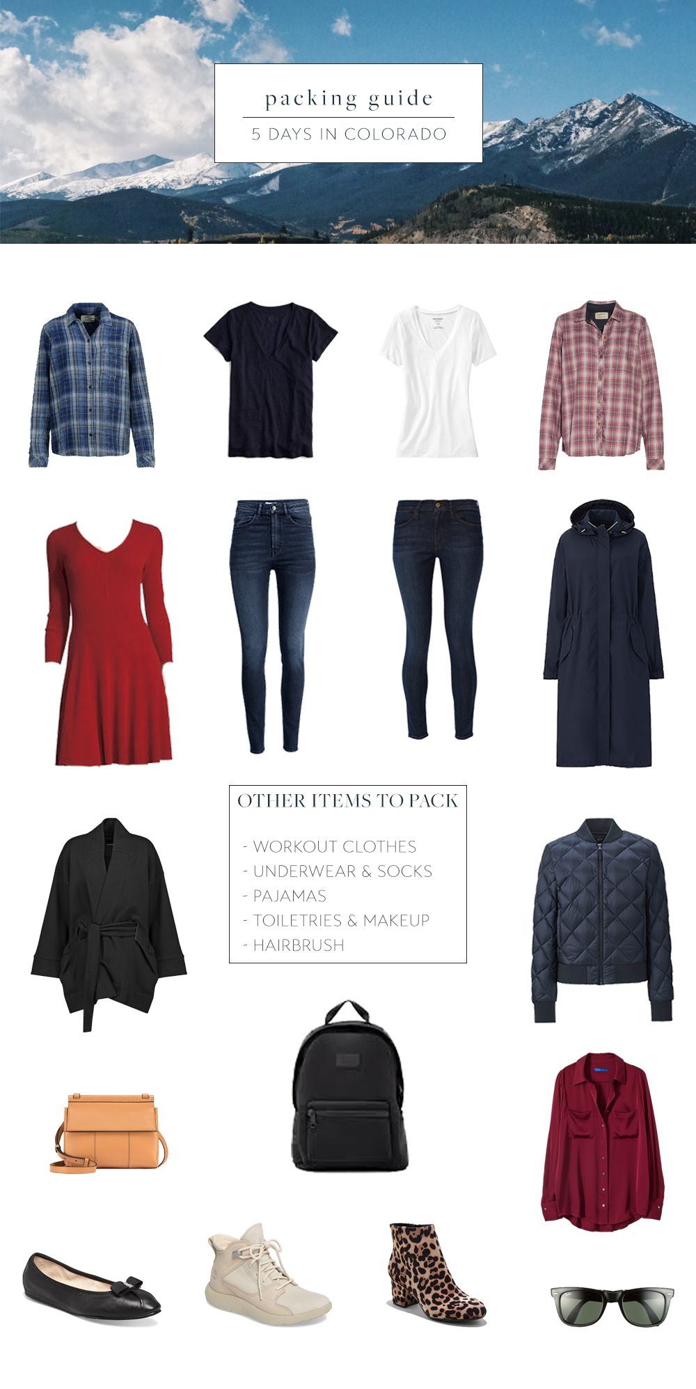 What To Pack For 5 Days In Colorado In The Autumn Colorado Outfits Packing List For Travel Colorado Fashion