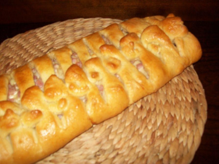 Ham n swiss bread bread food frozen bread dough