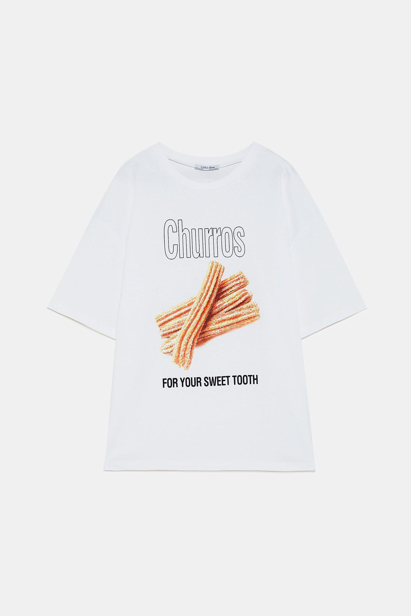Zara tiene en una camiseta tu desayuno favorito de los