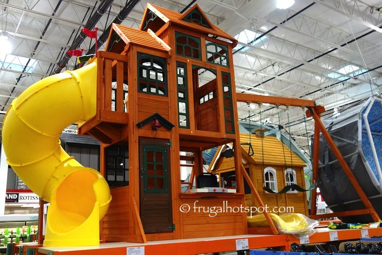 e273ed3a6d0f5 Costco  Cedar Summit Play Canyon Ridge Play Set  999.99