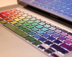 TurboColor - Decal Keyboard Sticker for Macbook Mac Lenovo Asus Sony Dell  HP Acer Sams