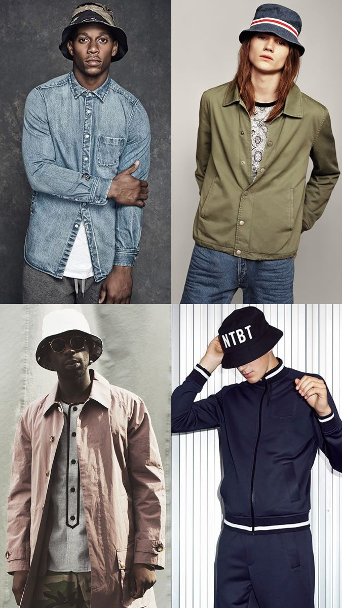 e2abe1c67b14 Men s Bucket Hats Outfit Inspiration Lookbook
