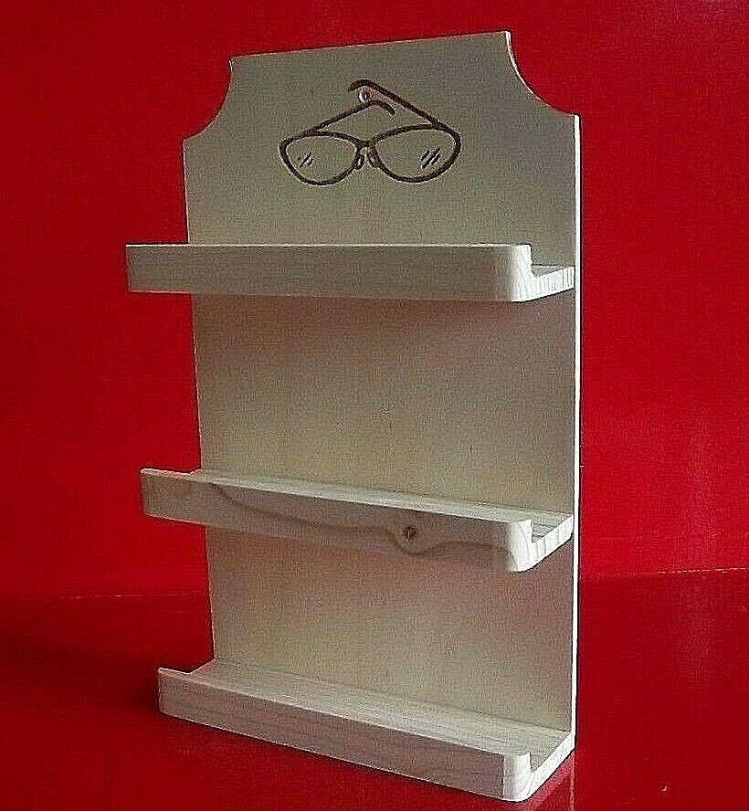 Sauna Brillenhalter FUR 5 Brillen Brillenregal  Saunazubehör Neu,vlasve