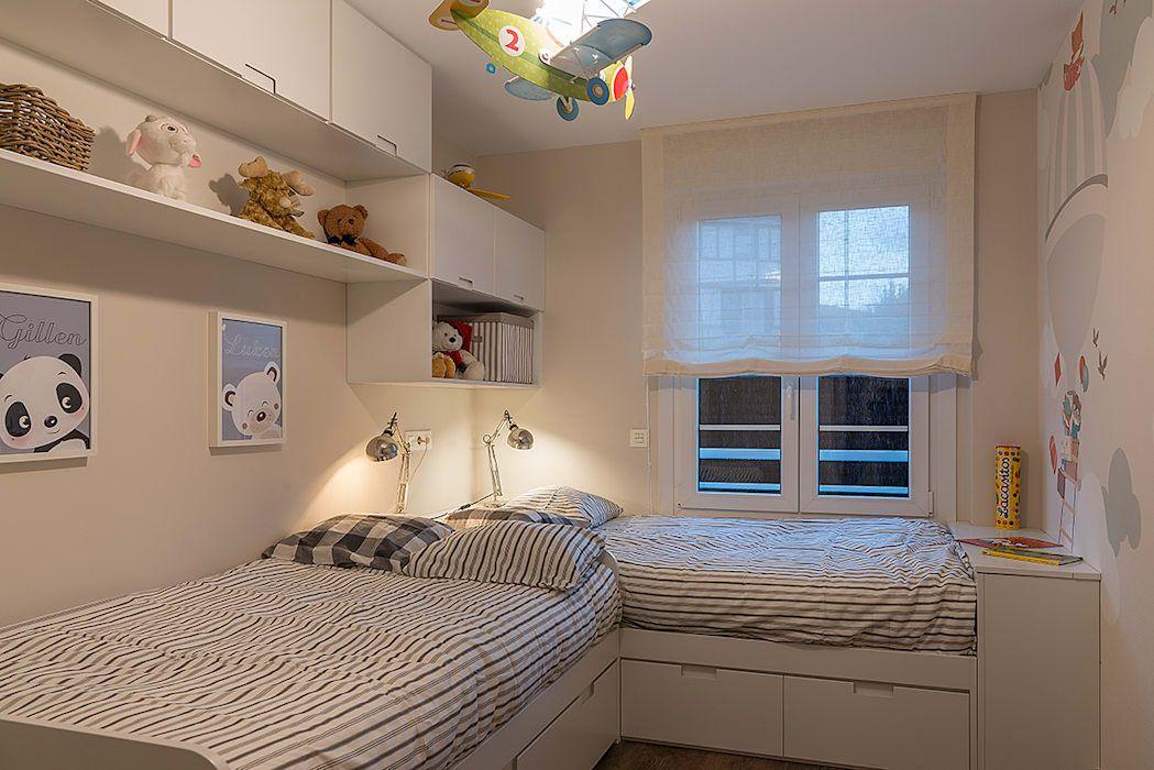 Reforma integral en neguri dormitorios infantiles de estilo de gumuzio prada dise o e - Estilos de interiorismo ...
