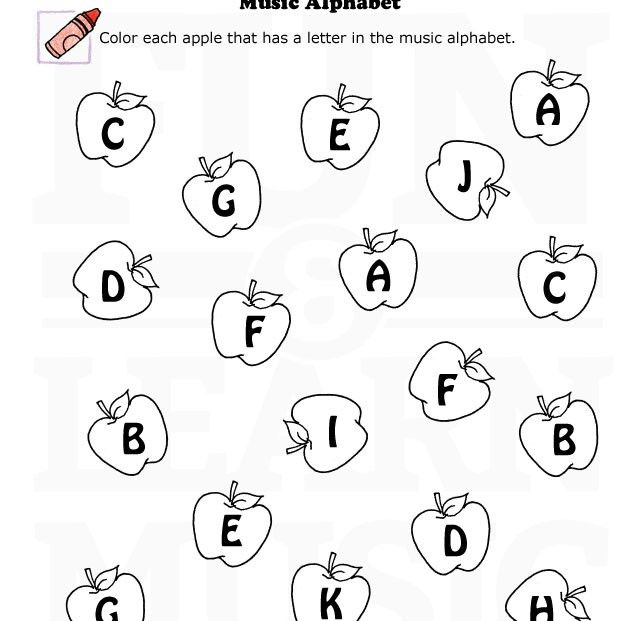 Worksheet Alphabets Worksheets 1000 images about musical alphabet on pinterest sheet music cards and free printables