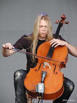 Eicca Toppinen from cello band Apocalyptica | My Fandoms  | Cello