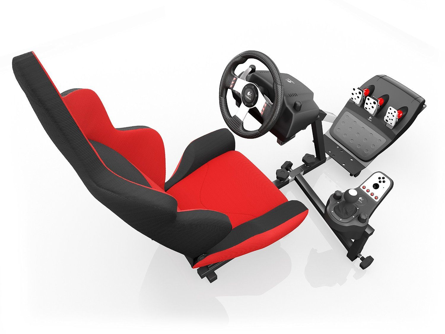 Openwheeler Advanced Racing Seat Driving Simulator Gaming