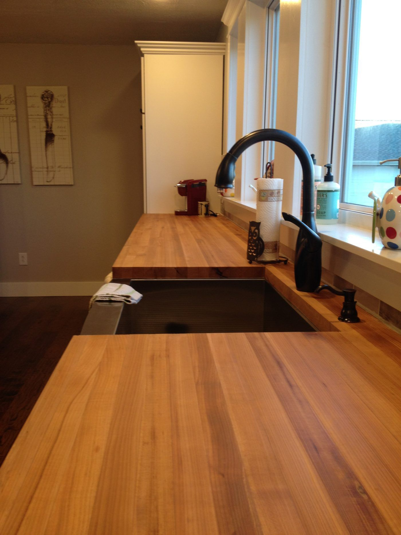 My Take On Butcher Block Countertops Woodn T You Like To Know Replacing Kitchen Countertops Butcher Block Countertops Kitchen Diy Butcher Block Countertops