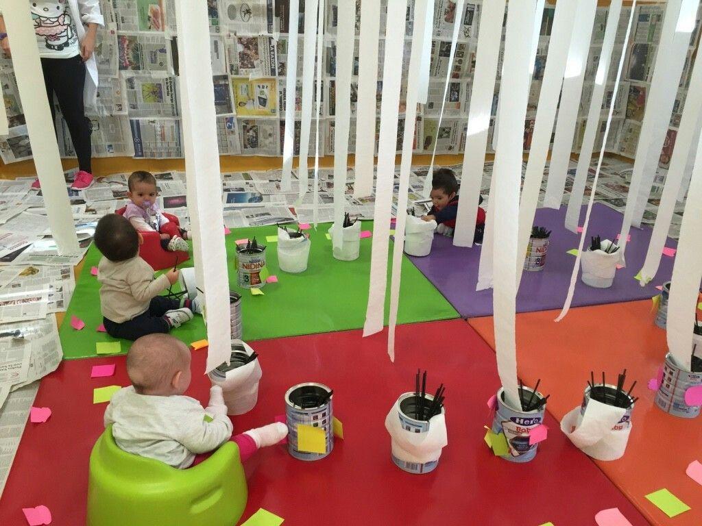 educacion plastica primera infancia jardn infantil meses propuestas aprendizaje espacio reggio emilia montessori