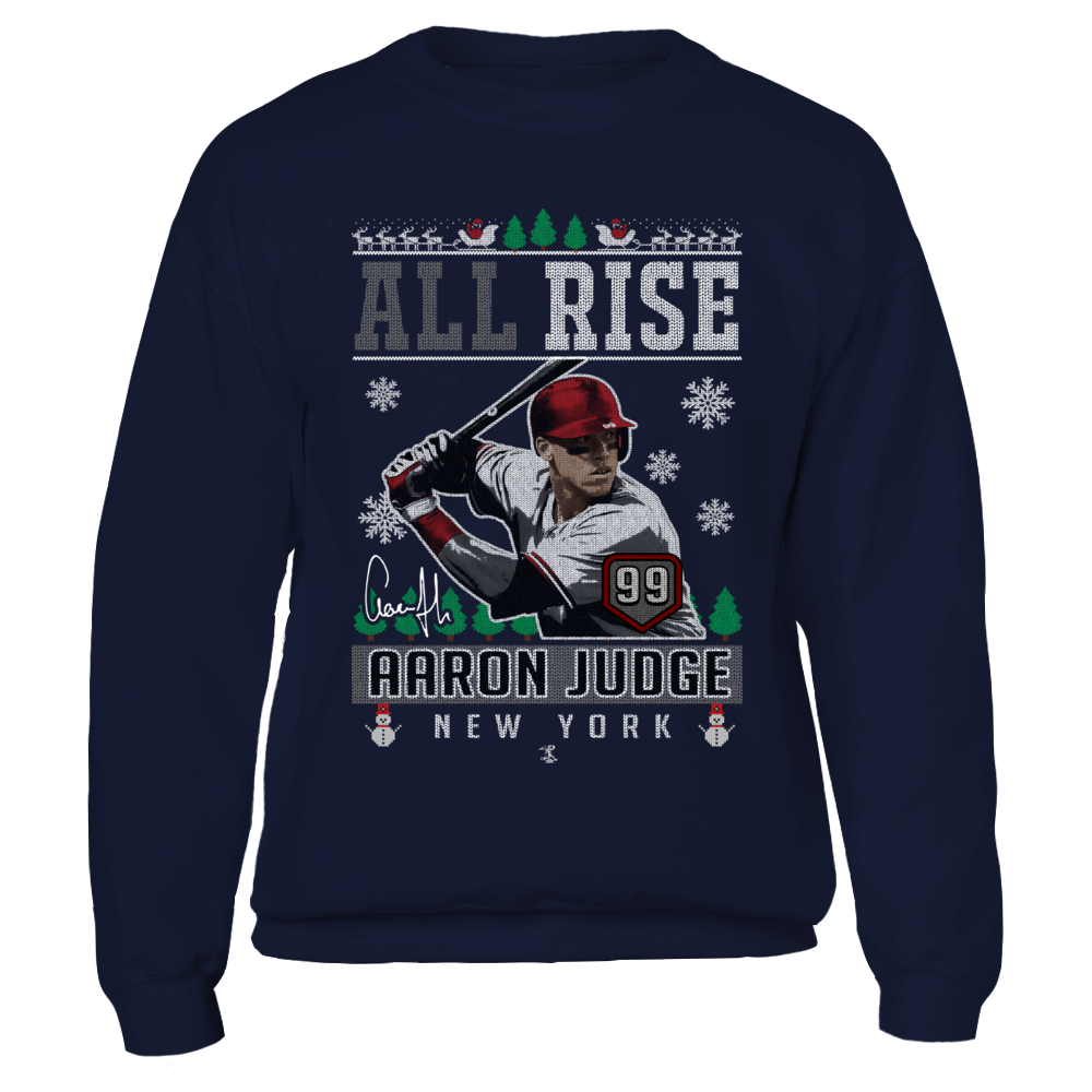 Aaron Judge - All Rise - CHRISTMAS PLAYER T-Shirt 5ce0b73cf37