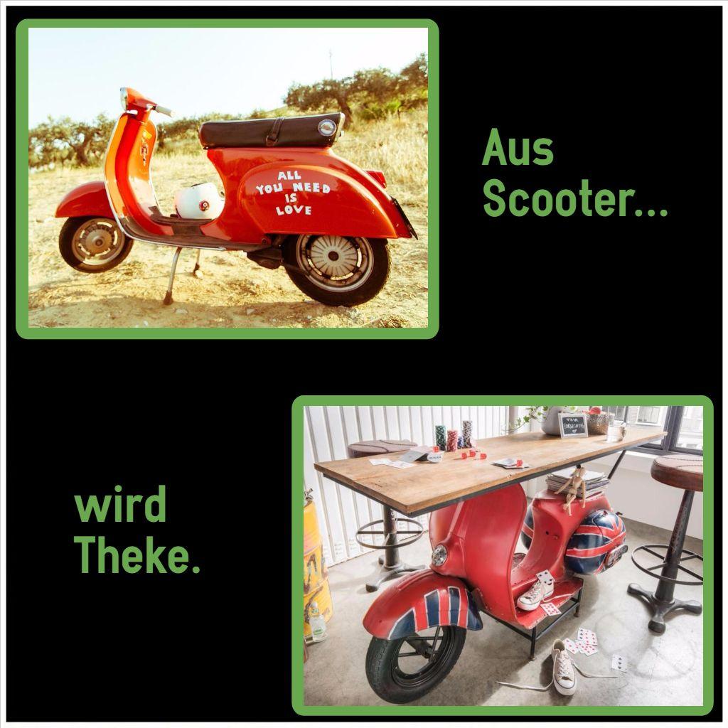 scooter konsolentisch einrichtungstipps auto m bel. Black Bedroom Furniture Sets. Home Design Ideas
