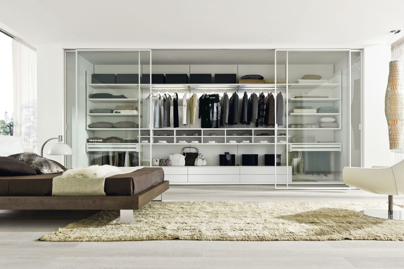 amazing walk in closets of walk in wardrobe designs cool tempered glass walk in