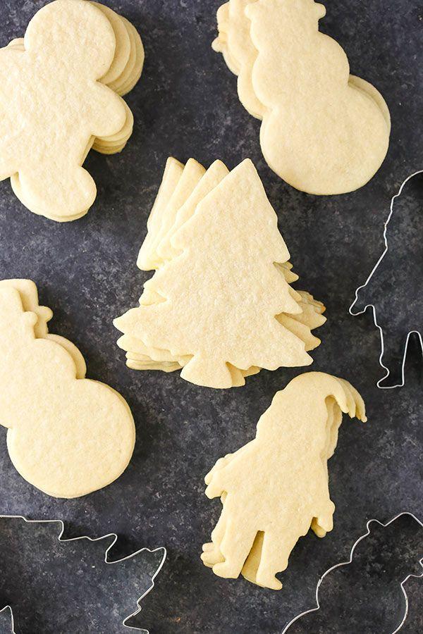 BEST Sugar Cookie Recipe for Decorating | Easy Sugar Cookies #halloweensugarcookies