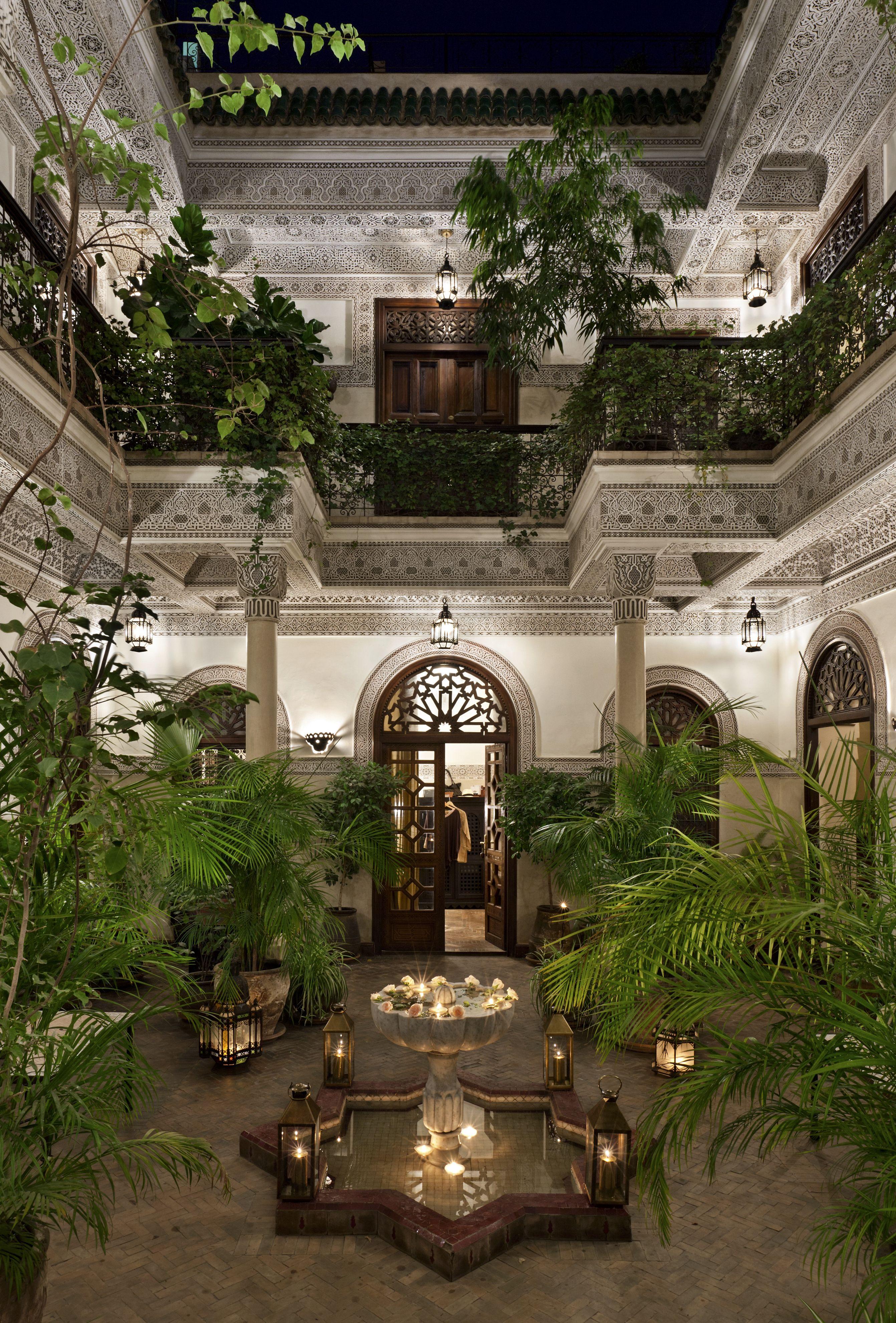 courtyard envy, La Villa des Orangers Marrakech Moroccan