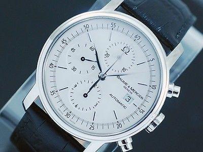 56727282045 Baume   Mercier Classima XL Automatic Chronograph Watch!