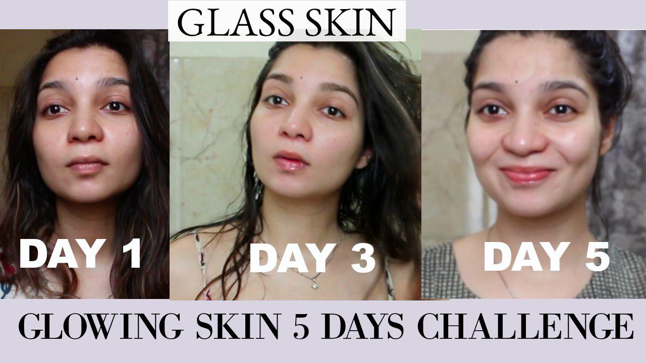 How I Got Glowing Glass Skin In 5 Days Glowing Skin Secrets Glass Skin Natural Glowing Skin