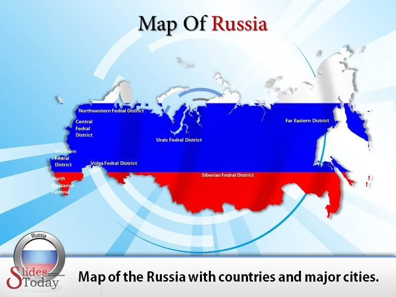 Map of Russia PowerPoint Presentation,Get # Customized ...