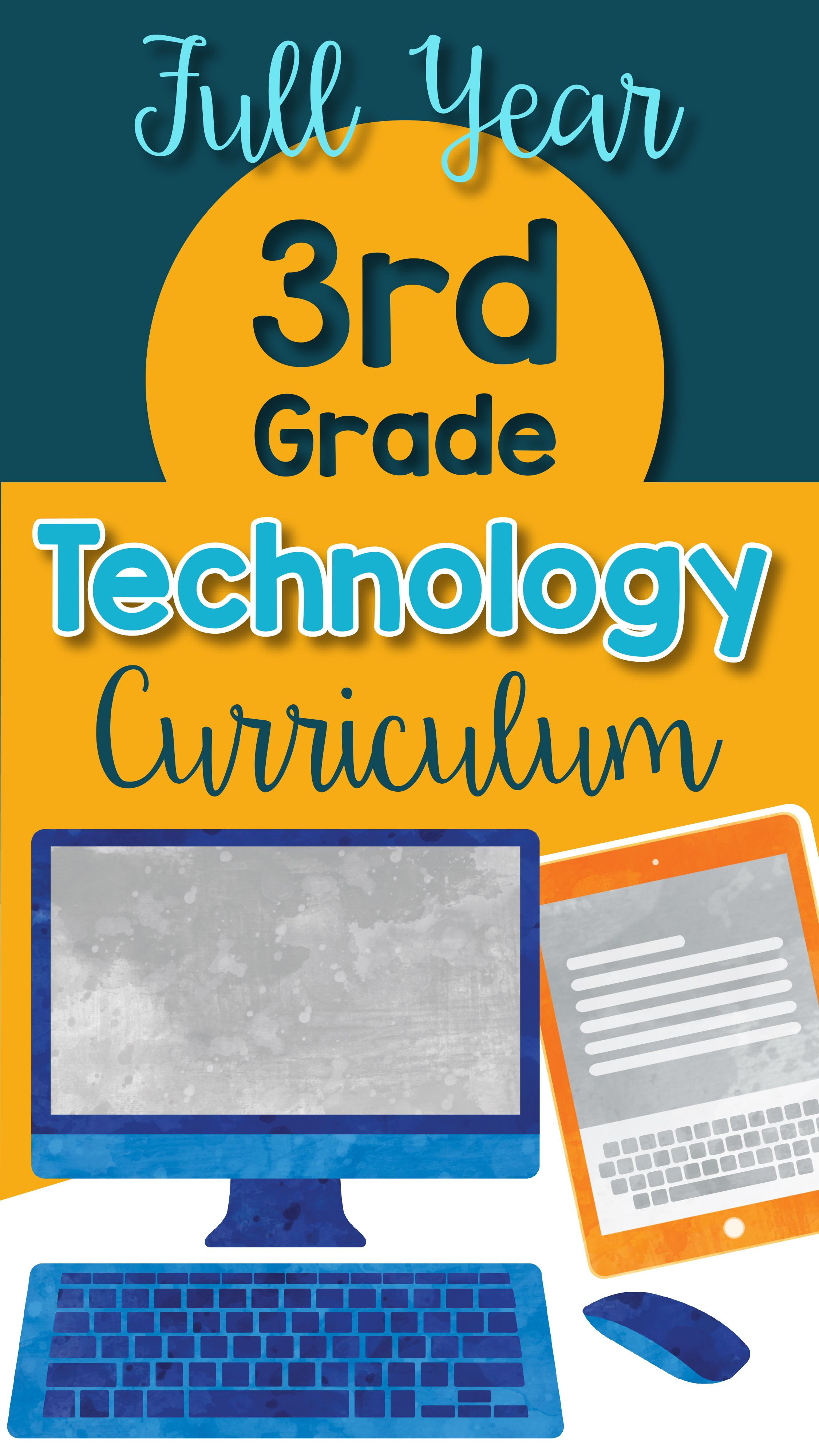 3rd Grade Technology Lesson Plans And Activities For The