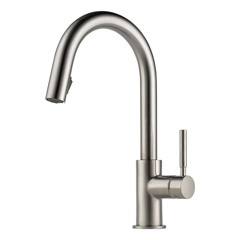 View the Brizo 63020LF Pullout Spray High-Arc Kitchen Faucet with ...