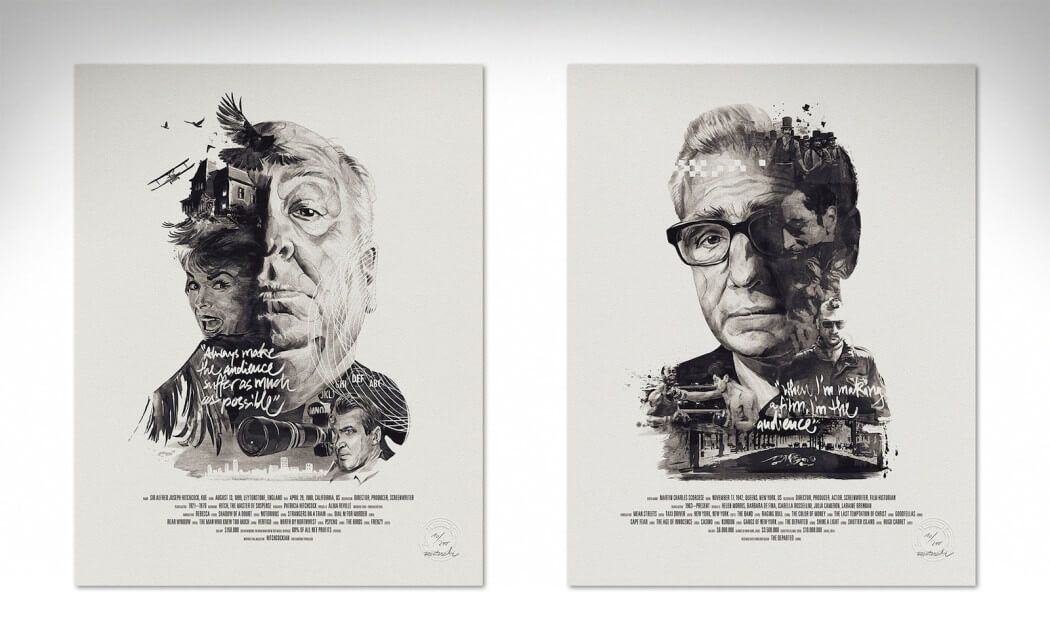 Film Director Portraits by Julian Rentzsch cover